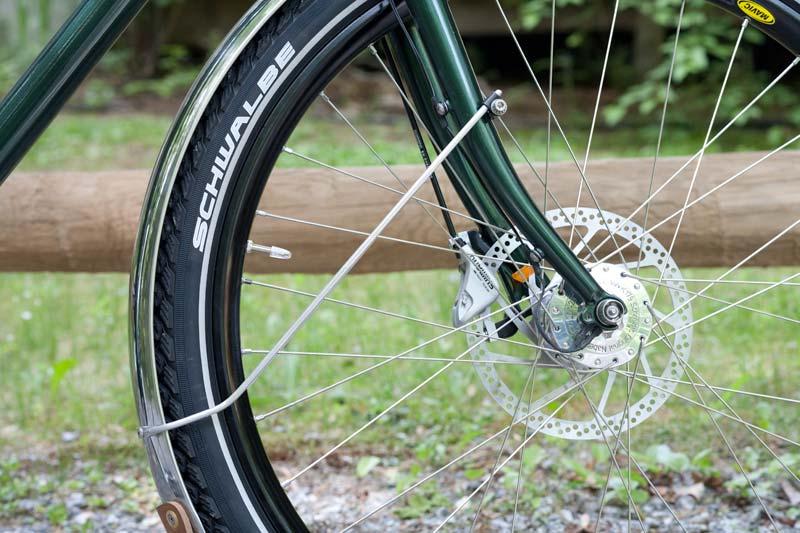 Fenders On Disc Brakes Civia Bryant Bike Forums