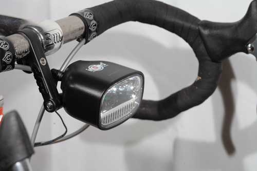 Dynamo Rear Fender Mount Rectangle Shape Square Bicycle Light
