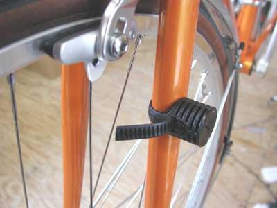 Bike dynamo holder support bracket Light Side Rear Front Cycle vintage headlight