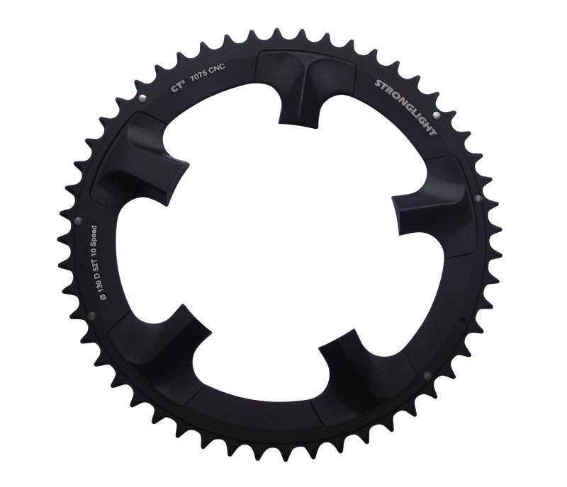 US Seller New Bicycle Crankset Double Chainring Bolts for Shimano Campy Black