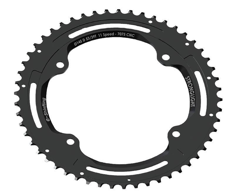 5f12d57d2c4 Stronglight CT2 chainrings for Campagnolo 4 bolt cranksets