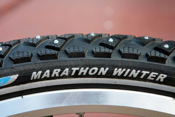 Studded Bicycle Tires